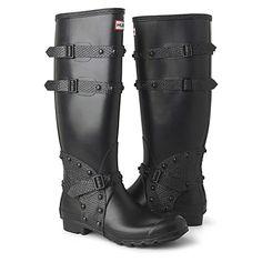 HUNTER Festival 2011 tall boots  £160.00