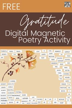 109: How to Make Digital Magnetic Poetry Activities