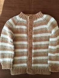 Ravelry: Project Gallery for garter yoke baby cardi pattern by Jennifer Hoel. Baby Cardigan Knitting Pattern Free, Baby Boy Knitting Patterns, Knitted Baby Cardigan, Knitted Baby Clothes, Cotton Sweater, Knit Patterns, Crochet For Kids, Crochet Baby, Gilet Crochet