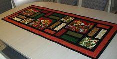 Bilderesultater for table runner christmas patchwork Christmas Patchwork, Christmas Quilt Patterns, Easy Quilt Patterns, Christmas Quilting, Placemat Patterns, Quilting Ideas, Quilting Fabric, Quilting Tutorials, Sewing Tutorials