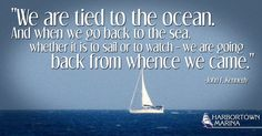We are tied to the #ocean!#HarbortownMarina #Boating