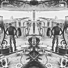#mirror #workshop #motorcycle #custom #bw