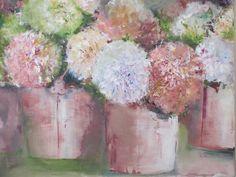Hydrangeas by Janet Dirksen