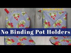 Christmas Sewing Projects, Easy Sewing Projects, Sewing Hacks, Makeup Removers, Sewing Binding, Sewing Machine Thread, Sewing Class, Potholders, Sewing For Beginners