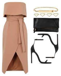 Style #11708 by vany-alvarado on Polyvore featuring polyvore fashion style Yves Saint Laurent A.P.C. Ana Khouri Clare V. clothing