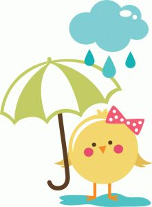 View Design: rainy day bird