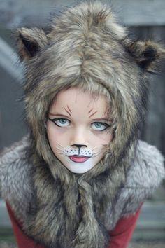 maquillage chat halloween déguisement chat idée