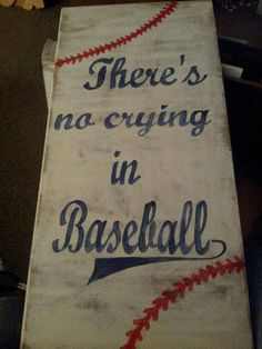 All American Baseball Sign by CloverHillCreations on Etsy, $30.00