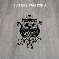 DETAILS Owl Silhouette Clipart svg WHAT'S INCLUDED: Once your order is placed, you will receive the following archived files: ☼ 1 DXF files ☼ 1 EPS files ☼ 1 SVG files ☼ 1 AI files ☼ 1 PNG files 300ppi with transparent background INSTANT DOWNLOAD -----------------------------