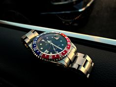 "Rolex GMT Master II ""Pespi Style"""