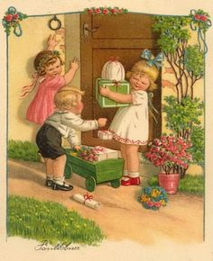 Pauli Ebner (1873-1949) — Old  Post Cards (500x615)
