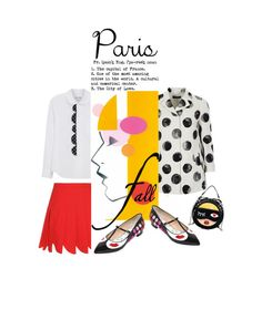 """""""I Love Paris In the Fall'"""" by dianefantasy ❤ liked on Polyvore featuring Giannico, Dolce&Gabbana, Miu Miu, Comme des Garçons, polyvorecommunity and fallgetaway"""