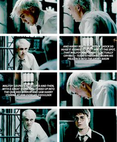 Harry Potter - Draco Malfoy - This was one of my favorite parts in the 6th movie... sigh