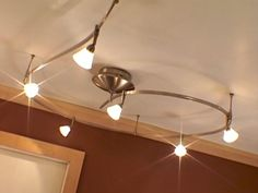 Installing Track Lighting In A Bathroom How To Diy Network