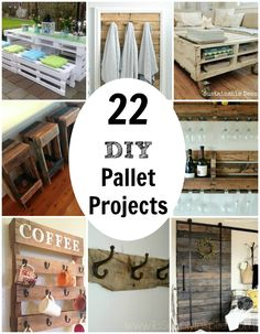 Pallet projects are gaining huge popularity in the DIY world. Rightfully so! You can create beautiful pieces of furniture and more for really cheap or even free.