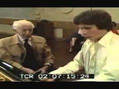 Arthur Rubinstein teaching someone how to play Chopin ballade