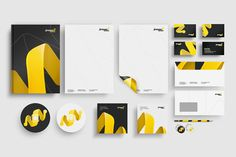 Lemon Media - brand identity by Dora Klimczyk, via Behance