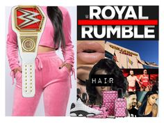 """""""Arriving to the Arena"""" by xxxladiidxxx ❤ liked on Polyvore featuring Rockland Luggage and WWE"""