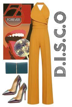 """""""D.I.S.C.O"""" by besado-por-el-sol on Polyvore featuring moda, Emilia Wickstead, Nina Ricci y Christian Louboutin"""