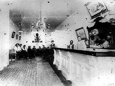 The Longbranch Saloon of Dodge City, Kansas looms large in the lore of the Old West. The picture is of the original Longbranch Saloon, taken circa 1880.