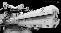 ArtStation - D.S.U- Clay render , Amin Akhshi