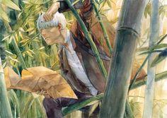 /Ginko Mushishi/#1256287 - Zerochan | Artland | Yuki Urushibara / 「ギンコ」/「Chernotrav」のイラスト [pixiv]