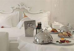 Romantic dinner...in bed *winks*