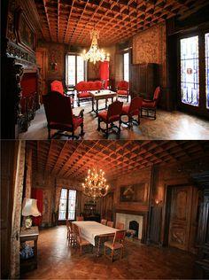 French chateau livingroom...
