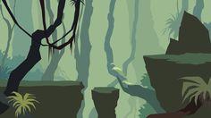 Behance :: side scroller RPG by Ariel Belinco 2d Game Art, Video Game Art, Environment Concept, Environment Design, Decoration Pirate, Art Environnemental, Animation Background, 2d Game Background, Game Concept Art