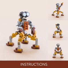 Mechanic bot Lego Store, Brick Loft, Lego Brick, Instagram Accounts, Tigger, Cool Stuff, Etsy, Photos, Beads