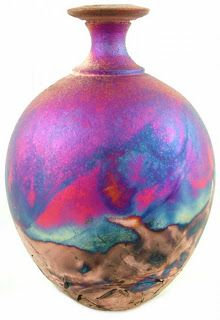 I love raku pottery.  I want to get at least one piece for my new home.