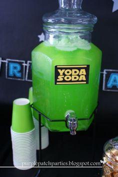 I have an odd hankerin' for some... Yoda Soda.