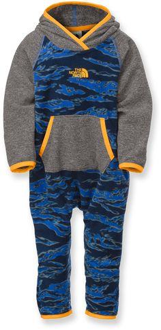 The North Face Unisex Glacier One-Piece Fleece Suit - Infants'