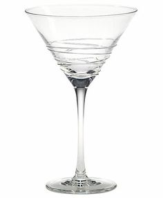 Mikasa Martini Glass, Swirl