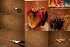 arrumar os sapatos nunca foi tão fácil!