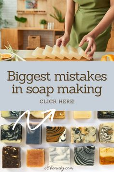 make your own soap is an amazing hobby!  But, making soap for beginners can be not so much fun if you don't know some details. In this post, we discover how to make homemade natural soap in complete safety! What you need to know before you start making homemade soap. The biggest mistakes in soap making that it's better to avoid! Soap Making Recipes, Homemade Soap Recipes, How To Make Homemade, Food To Make, Do It Yourself Projects, Make It Yourself, Natural Parenting, Eco Friendly Fashion, Cold Process Soap