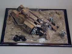 1/35th scale WWI diorama featuring the Emhart Mark IV. This one is by Igor Mingazov.