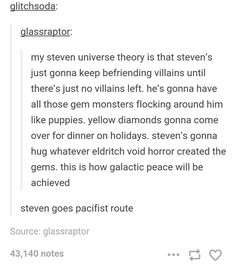 steven universe theory tumblr funny