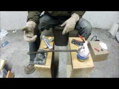 Smelting Lead Slingshot Ammunition