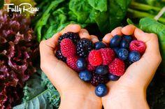 A Berry Happy Heart! www.fullyraw.com www.rawfullyorganic.com