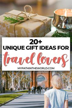 Looking for the most unique travel gift ideas? From practical to fun, here are more than 20 creative ideas of unique gifts for people who travel!