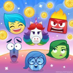 Kawaii Disney, Cute Disney, Disney Games, Disney Pixar, Emoji Characters, Disney Characters, Disney Inside Out, Tsumtsum, Pixar Movies