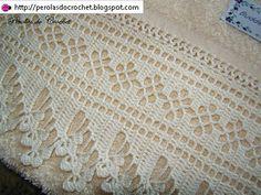 * Pérolas do Crochet: Barrado de crochet