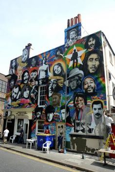 Legends live on as new Prince Albert music mural unveiled in Brighton