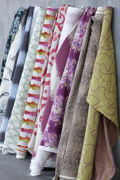 Laura Kirar's new fabric collection.