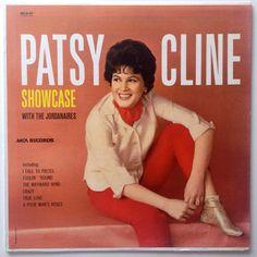Patsy Cline - Showcase With The Jordanaires LP Vinyl Record Album, MCA Records - MCA-87, Country, 1988