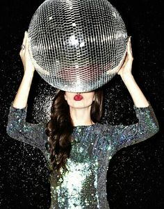 What's a party without a disco ball