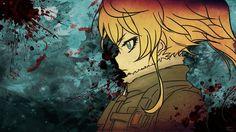 Tanya Degurechaff, anime artwork wallpaper