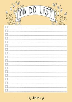 Free To Do List Printable                                                                                                                                                                                 More
