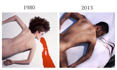 Guy Bourdin for Pentax Calendars, 1980 and Vehicular Bourdin by Venfield 8, 2013.